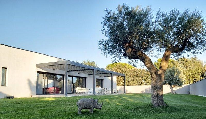 Villa contemporaine Piscine chauffée, location de vacances à Châteauneuf-du-Pape