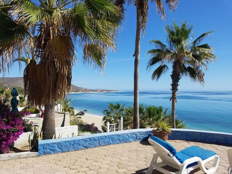 Authentic Mexican Style Beachfront Home - 4 Bedroom, 3 Bath - Buena Vista, aluguéis de temporada em Los Barriles