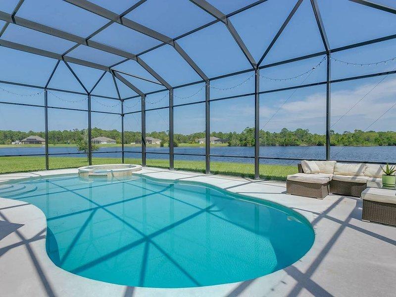 Central Florida Lake Home, casa vacanza a Micco