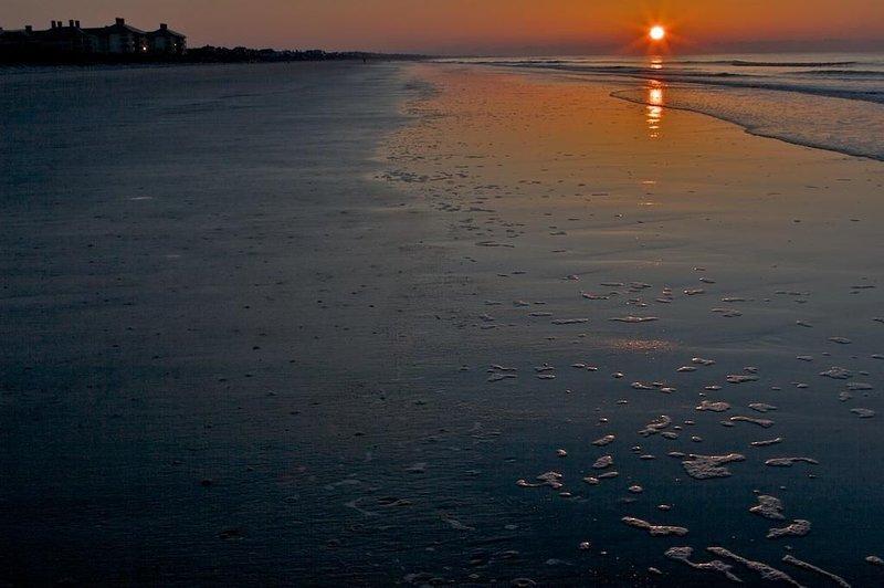Enjoy Evening Strolls on the Beach