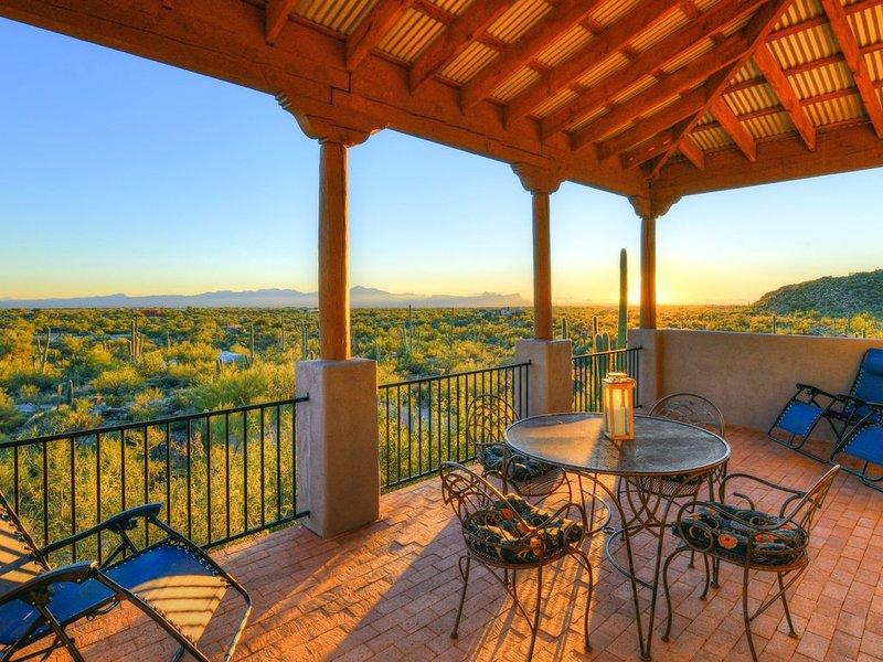 Spacious Retreat on 4 acre private mountain property, alquiler vacacional en Tortolita