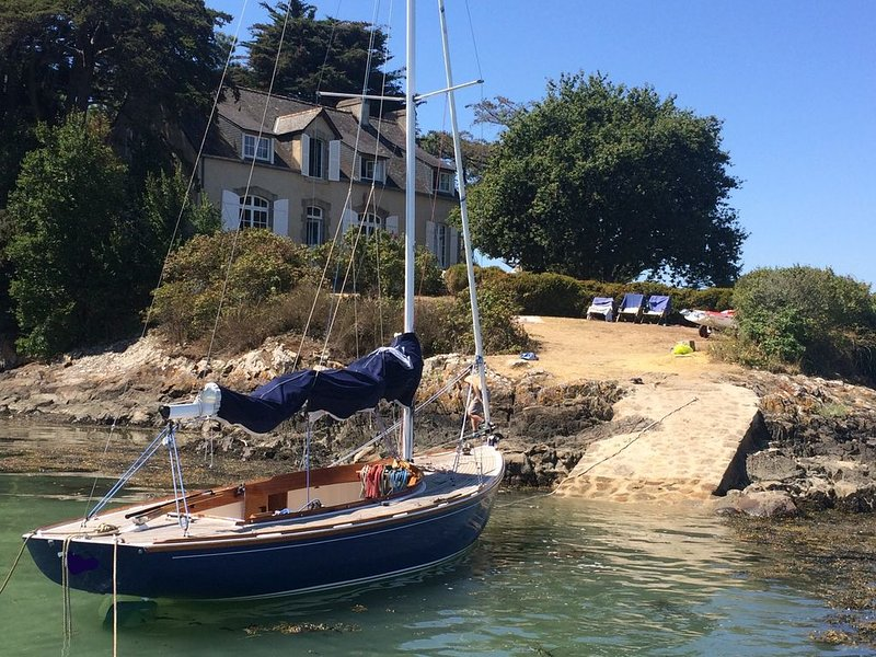 Maison de charme en bord de mer, holiday rental in Ile-aux-Moines