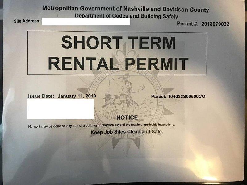 Licensed Short Term Rental