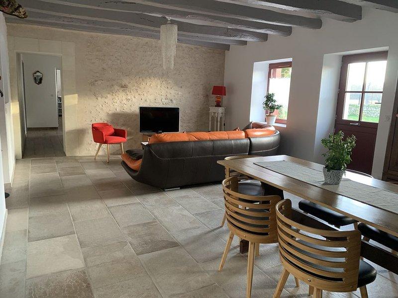Le Clos des Buis (15kms Tours) , 3CH, 2 SDB, 2WC Deutsch/English, holiday rental in Azay-sur-Cher