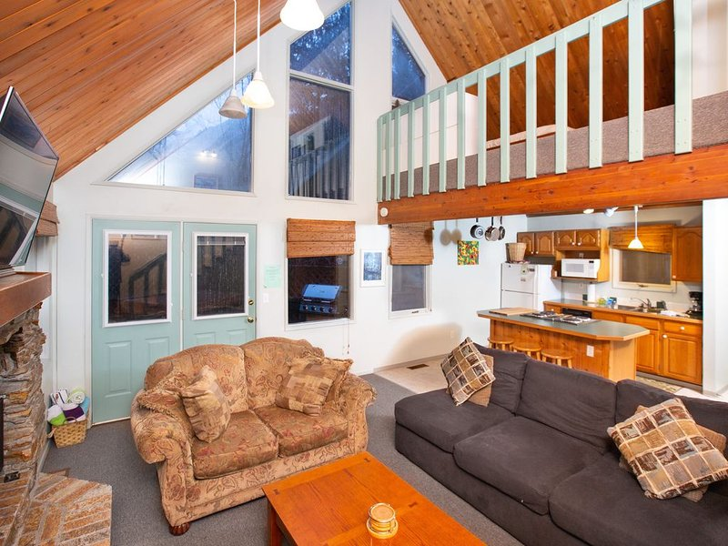 Cozy chalet near the slopes w/ a full kitchen & hot tub, holiday rental in Girdwood