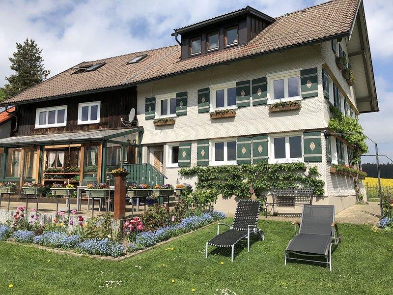 Im Urlaub 'Auf der Höhe' mit fantastischer Bergsicht, vacation rental in Missen-Wilhams