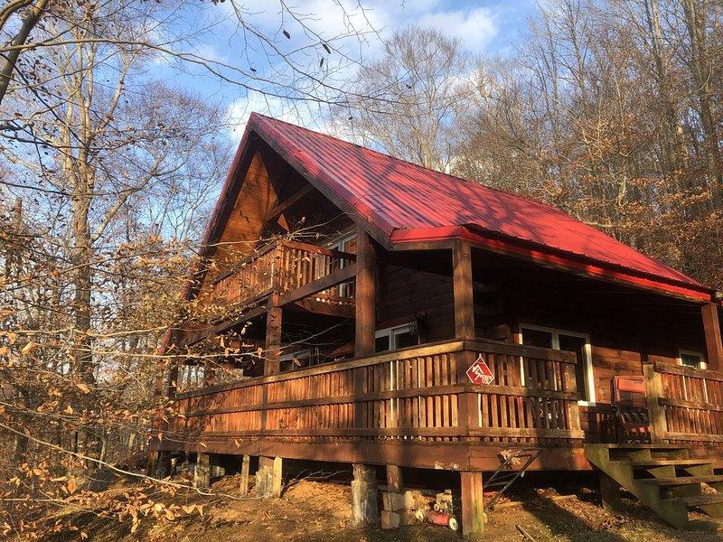 Log Cabin Stonewall Jackson Retreat, vacation rental in Exchange