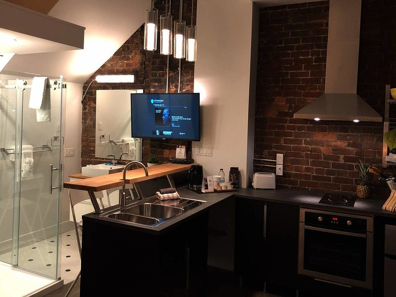 Bower Maison Historic Evangeline - Manhattan Loft Feel., holiday rental in Moncton