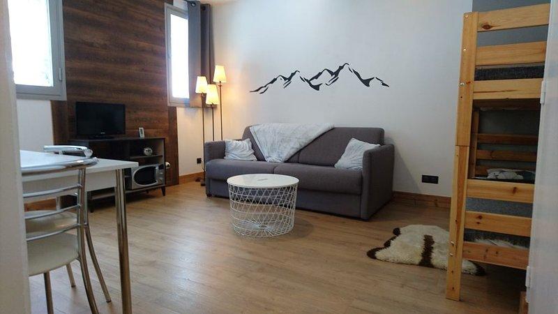 Studio à Flaine Forum  au pied des pistes, holiday rental in Flaine