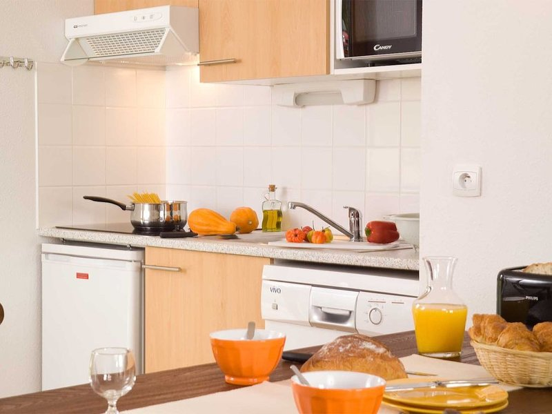 Prepare meals in the comfort of your very own kitchen.
