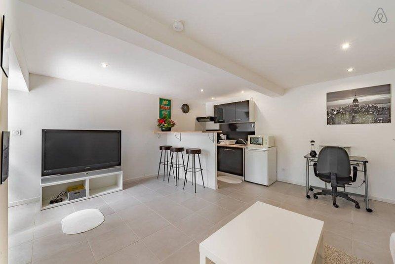 Appartement moderne et spacieux près de Vaise, holiday rental in Lozanne