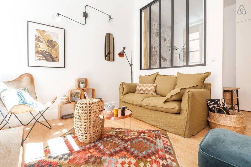 Appartement bohème et chic pour 4 dans le Vieux Lyon, location de vacances à Lyon