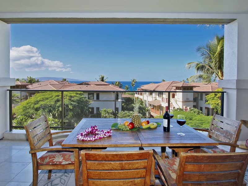 I.P.M PRESENTS: Penthouse I203 - Brand New Property! Ocean View + Great Rates, holiday rental in Kihei