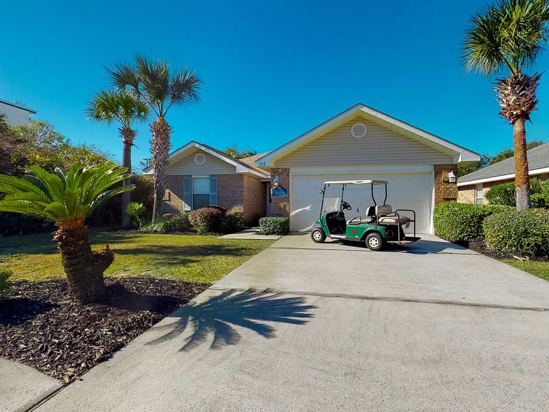 *** The Mermaid House - Private Pool and Golf Cart***, vacation rental in Miramar Beach
