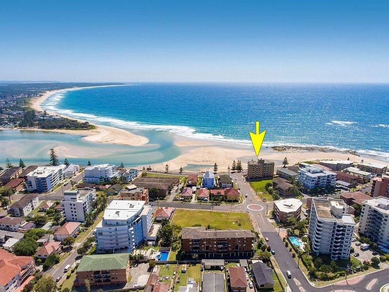 Water Views beach, Marine Parade., alquiler vacacional en The Entrance