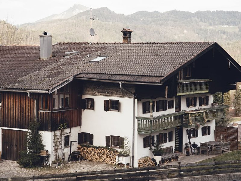 Adventure Bavaria House in Oberaudorf (Kaisergebirge), vacation rental in Walchsee