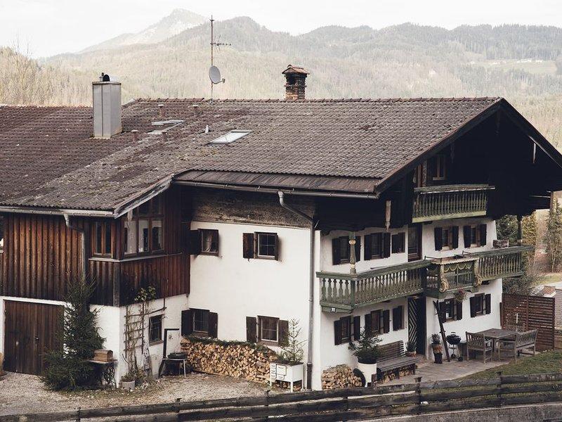 Adventure Bavaria House in Oberaudorf (Kaisergebirge), alquiler de vacaciones en Oberaudorf