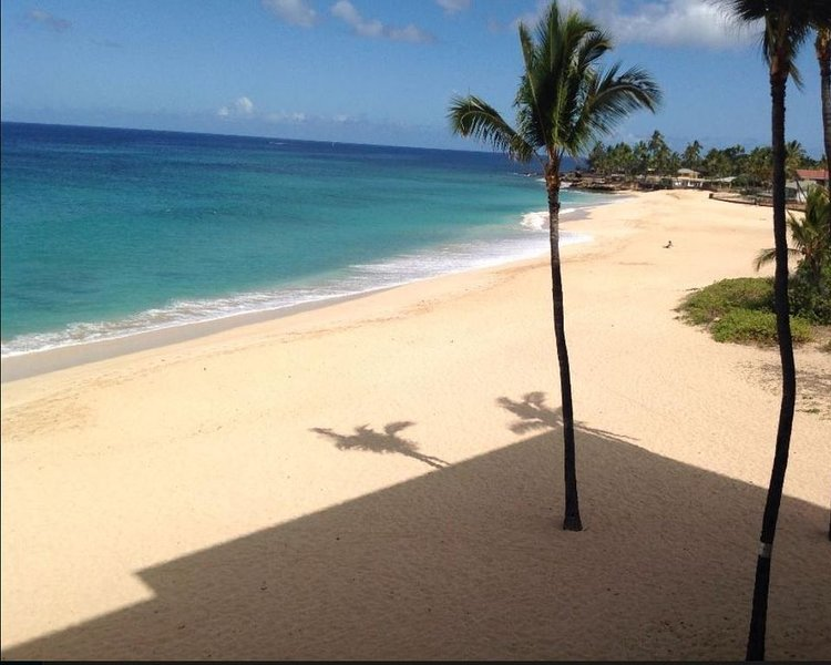 Beautiful Beaches and best snorkeling on island. Golf course nearby., alquiler de vacaciones en Waianae