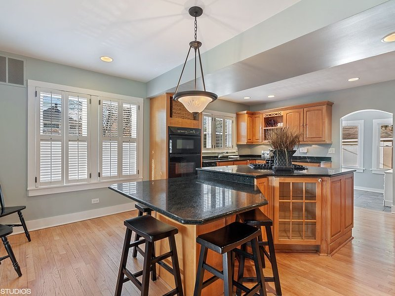 Professionally Sanitized - Downtown Naperville 4.5 Bedroom Farmhouse, location de vacances à Naperville
