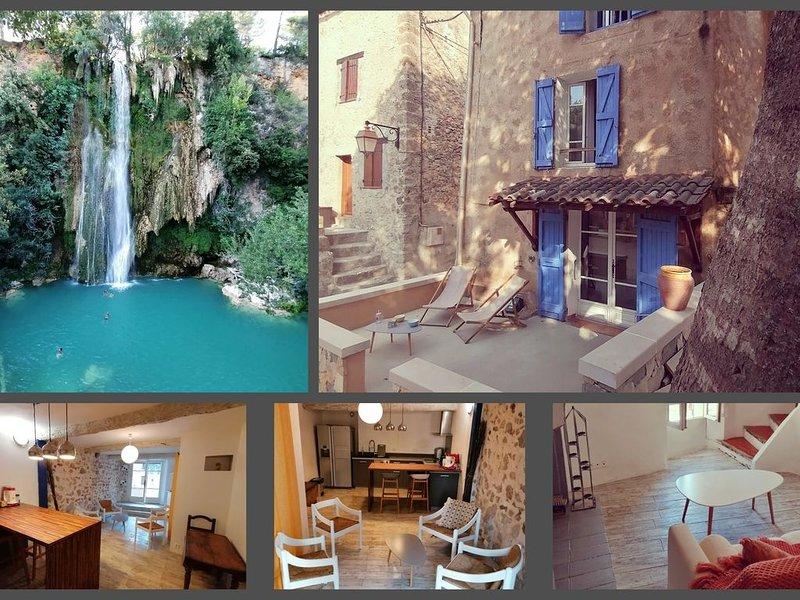 Maison de caractère dans le cœur historique de sillans la cascade (Provence), location de vacances à Sillans-la-Cascade
