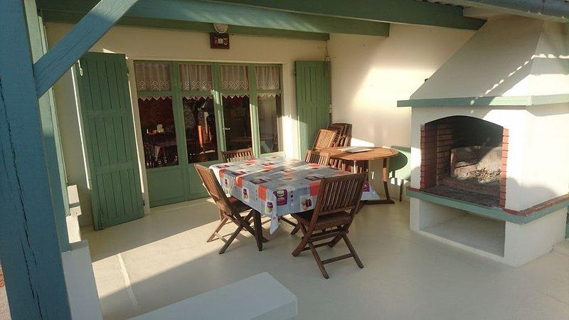 Villa avec jardin, port, plage, commerces à proximité, 3 chambres, 110m2, holiday rental in Jard-sur-Mer
