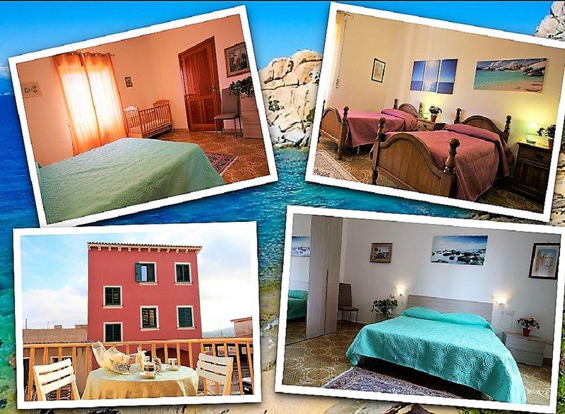 Grande trilocale a due passi dal mare, holiday rental in Capo Testa