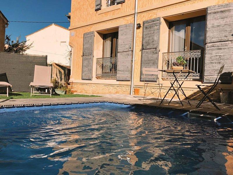Gîte Lo Bornat:faite le plein de nature et de soleil, entre mer et montagne, holiday rental in Pailhes