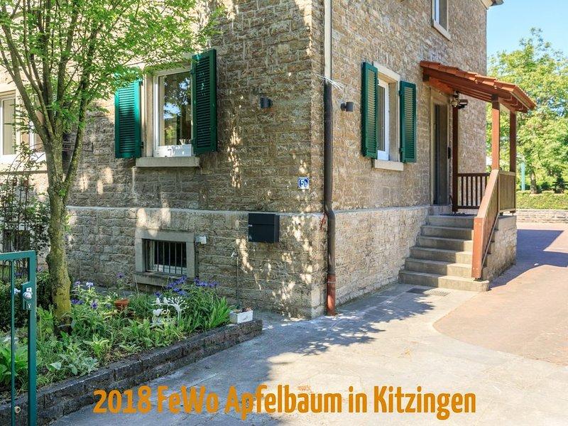 Große FeWo in Kitzingen, holiday rental in Lower Franconia