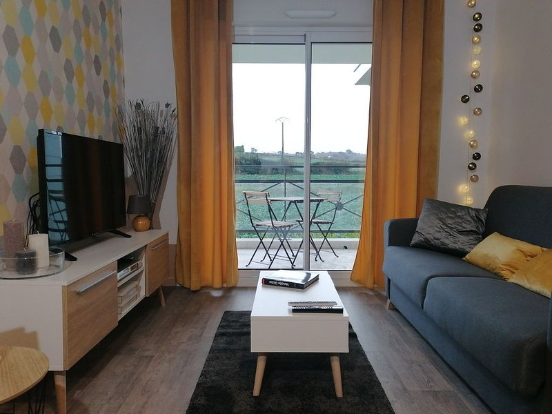 Appartement cocooning bord de mer, vakantiewoning in Roscoff
