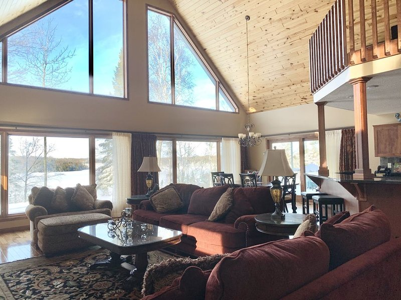Wonderful Winter Wonderland in Chippewa National Forest / Hot Tub and Fireplace, holiday rental in Deer River