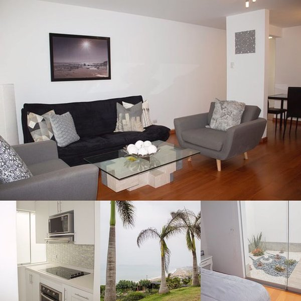 LOCATION! Completely renovated in upscale San Isidro safest area with garage, location de vacances à Magdalena del Mar