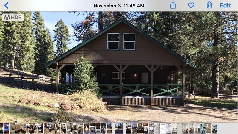 Hyatt Praire Mountain Cabin, location de vacances à Ashland