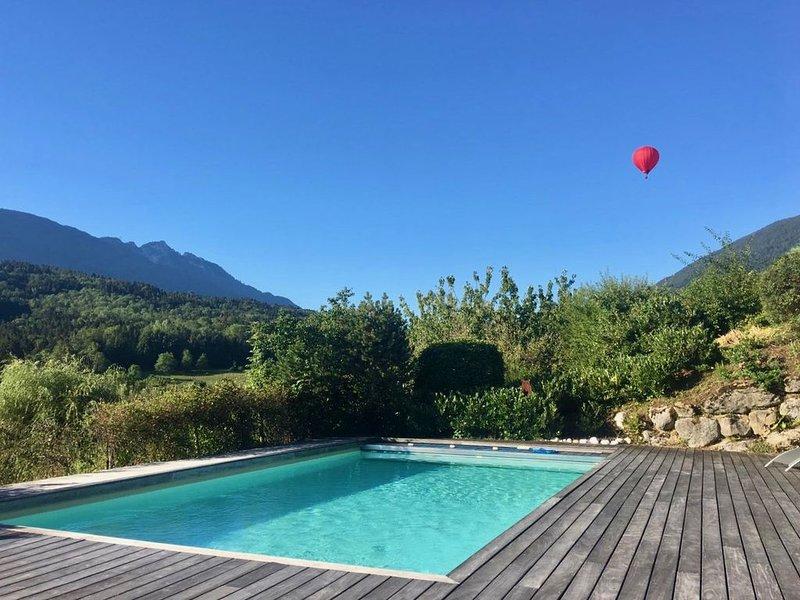 Chez Besson Lac d'Annecy vue lac et montagnes, holiday rental in Saint-Jorioz