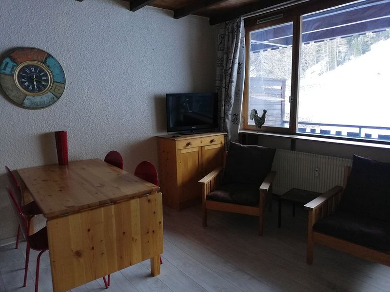 appartement 32 m2 'les carlines' praloup 1600, holiday rental in Meolans Revel