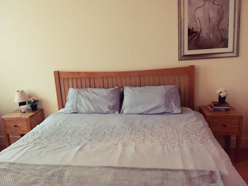 Cozy Ensuite Bedroom Near CITY CENTRE, vacation rental in Bray