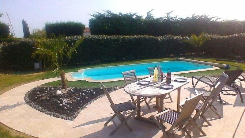 Coup de Coeur, Villa vendéenne 3 ch. 100m2 près d'un vieux moulin avec piscine, location de vacances à Poiroux