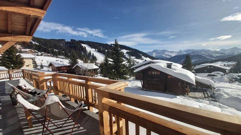 Nouveau chalet | Ski aux pieds | Les Saisies centre | 12 pers | Sauna, holiday rental in Les Saisies