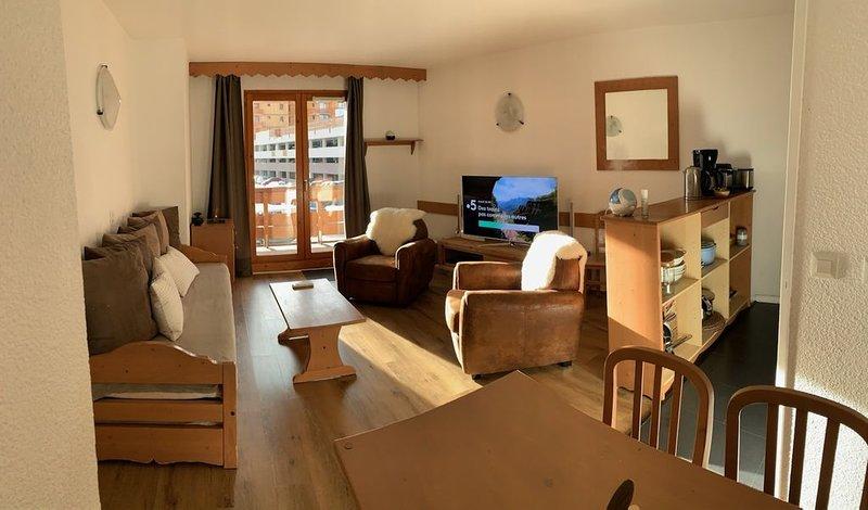 Appartement 4-6 personnes aux 2 Alpes, Isère, France, alquiler vacacional en Les Deux-Alpes