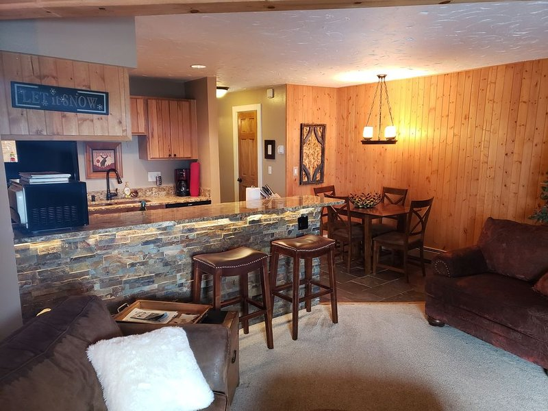 Silver Queen West Ski Condo with WIFI & SMART TV, alquiler de vacaciones en Silverthorne
