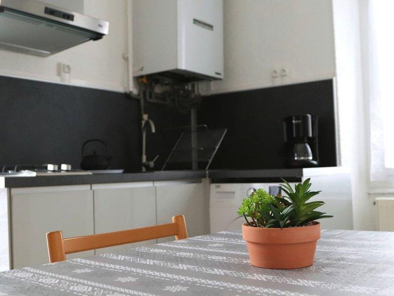 Bel appartement pour deux personnes au calme et à  proximité du centre ville, holiday rental in Saint-Jean-de-Chevelu