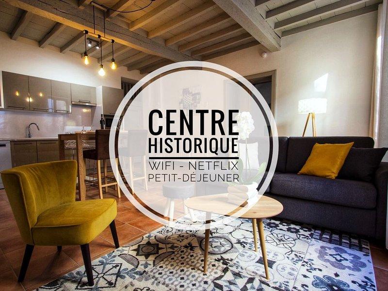 En toute intimité dans le centre historique, holiday rental in Meauzac