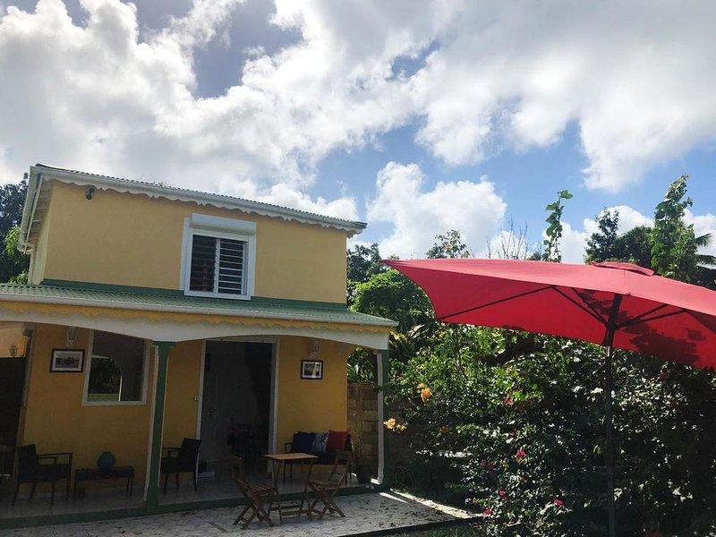 Maison CÉCILIA moderne à 5 min de la plage du Souffleur Port-louis, location de vacances à Port-Louis