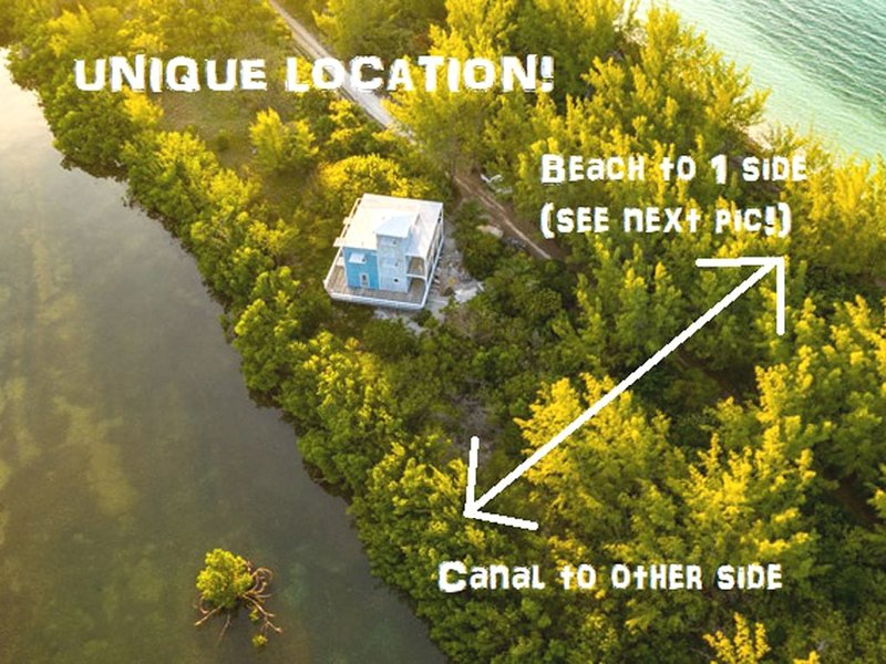 Lazy Turtle: unique beach house, kayaks, a 'GEM'!, vacation rental in Dunmore Town