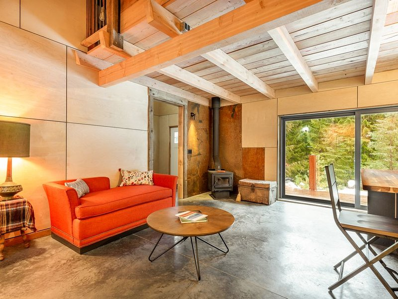 Custom Artisan Ski Cabin at the base of RED Mountain, holiday rental in Christina Lake