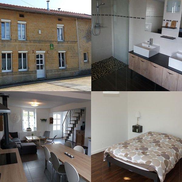 Gîte 6 places, tout confort avec spa et cheminée, vacation rental in Le Chesne