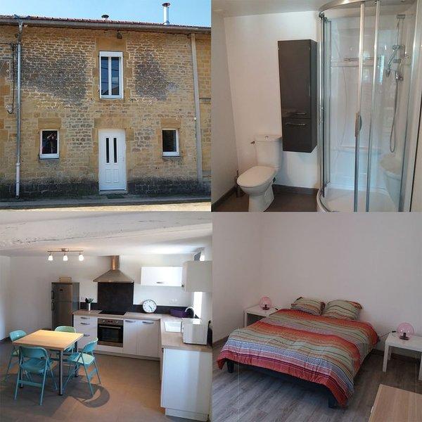 Gîte 4 places, tout confort avec cheminée, vacation rental in Le Chesne