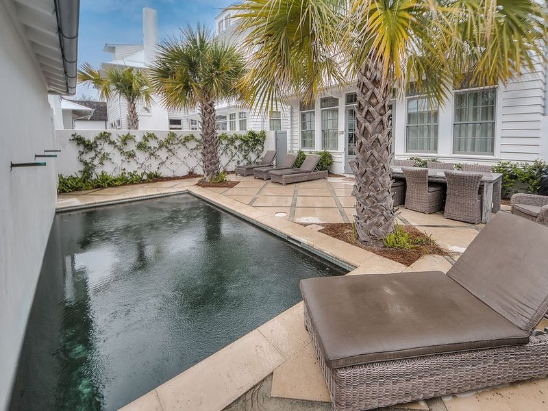 Courtyard - Featuring a Private Pool with Waterfall Feature