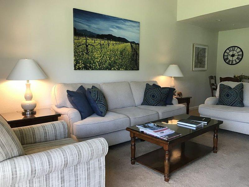 Silverado Resort Retreat in the Napa Valley, location de vacances à Yountville