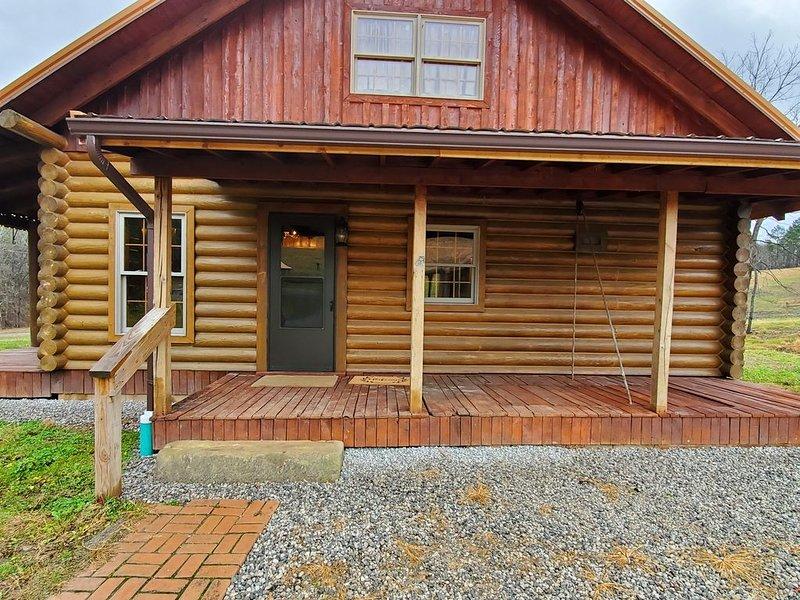 Log Cabin in Jackson County Ohio, casa vacanza a Wellston
