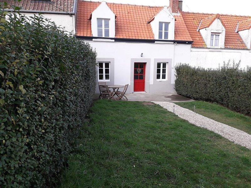 Maison de pecheur proche mer, holiday rental in Saint-Leonard